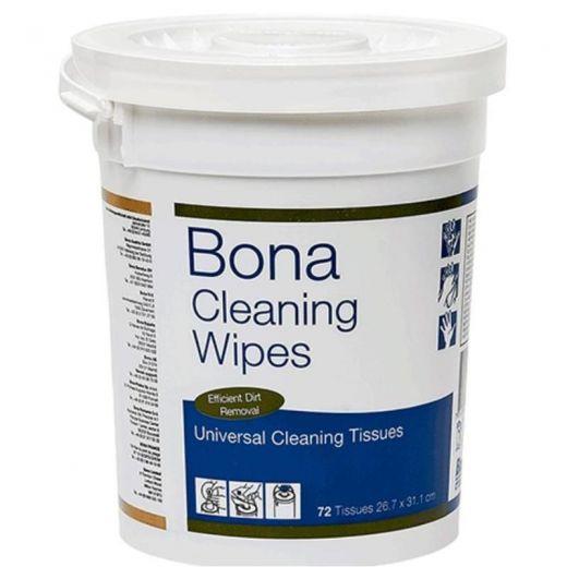 Bona Клининг Вайпс универсальные чистящие салфетки