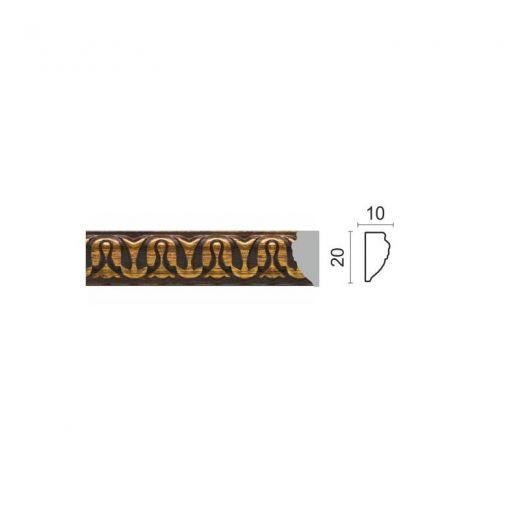 Decor-Dizayn Молдинг 103C-966 малый