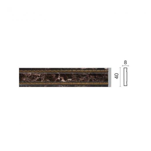 Decor-Dizayn Молдинг 104-11/1