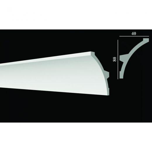 Decor-Dizayn Скрытое освещение Карниз DD512