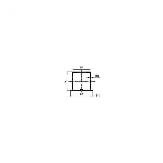 Комплектующие для фасадной доски MultiDeck H-профиль PDF-1042