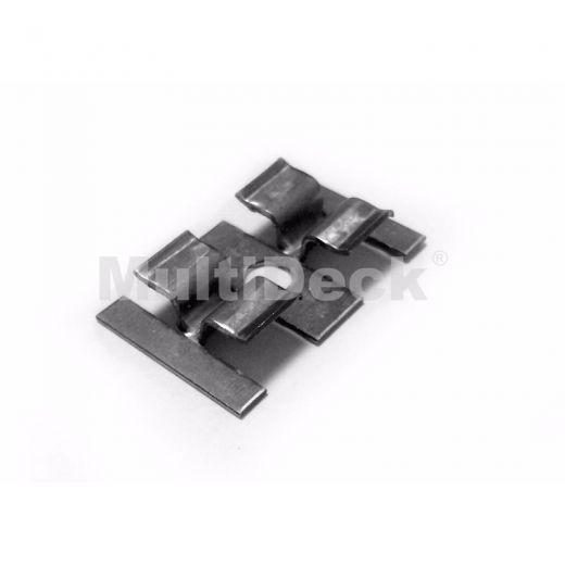 Комплектующие террасной доски MultiDeck Металлическая клипса