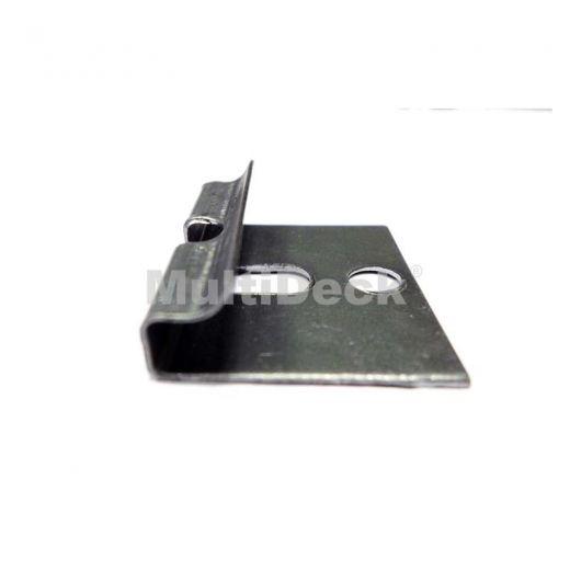 Комплектующие террасной доски MultiDeck Металлическая клипса стартовая