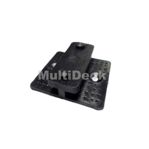 Комплектующие террасной доски MultiDeck Пластиковая клипса