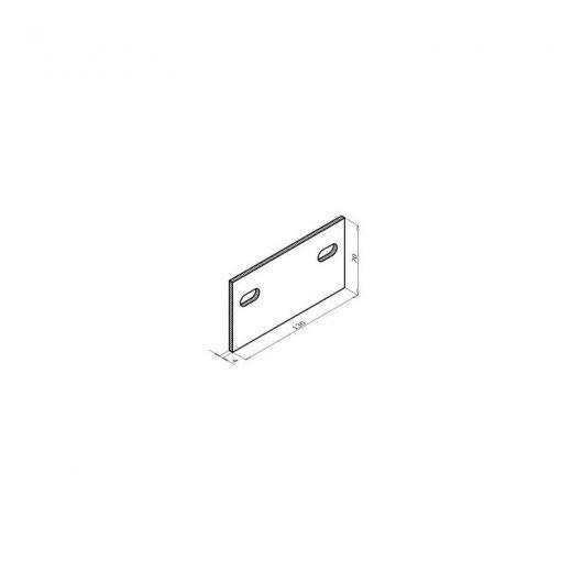 Комплектующие для фасадной доски MultiDeck Термоизолятор HM KDK-210
